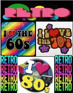 retro show posetr